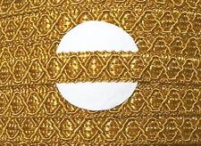 3m Posamentenborte gold 12 mm 1,33 €/m aufwendig gearbeitet Borte