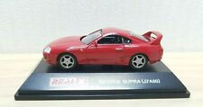 Real-X 1/72 TOYOTA SUPRA JZA80 RED diecast car model