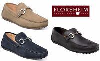 Florsheim Men's Danforth MOC Toe Suede Comfort Loafer Slip On Shoes NEW