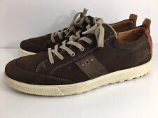 ECCO Men's $129 Lace-Up Sneakers Size EU 46 US 12-12.5 Brown