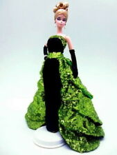 Eaki Green Sequin Dress Outfit Gown For Silkstone Barbie Fashion Royalty Candi