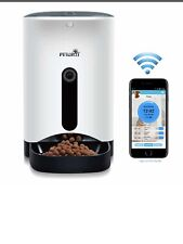 PETWANT Smart Automatic Pet Feeder for Dog or Cat,Control by Iphone or Android