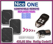 Nice ON1E / Nice ON2E / Nice ON4E compatibile telecomando sostitutivo 433,92Mhz