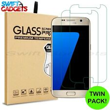 For Samsung Galaxy S7 Glass Screen Protector - 100% Genuine Tempered