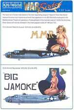 Kits World Decals 1/32 B-25J MITCHELL 321st BG Meet Mrs. Runyon & Big Jamoke