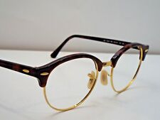 Authentic Ray-Ban RB 4246 990 Tortoise Gold Round Sunglasses Frame $208