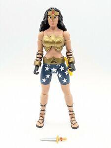 DC Comics Multiverse Dark Knight Returns WONDER WOMAN Action Figure Mattel 2016