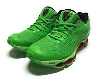 Mizuno x Lamborghini Wave Tenjin Running Shoes Green J1GR156704 Mens Size 7.5