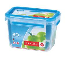 Emsa 8 Set Clip & Close 3D Perf Clean Food Storage Container - Quite