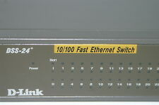 D-Link DSS-24+ 10/100 RackMountable Fast Ethernet Switch Power Mountable Rack