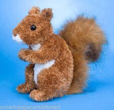 "ROADIE plush 6"" tall RED SQUIRREL Douglas Cuddle stuffed animal toy"