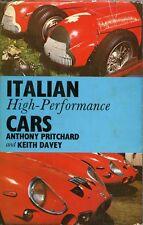 ITALIAN HIGH-PERFORMANCE CARS, BENTLEY PUB. NEW 1967 USA BOOK,   ON SALE NOW
