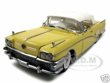 1958 BUICK LIMITED ST YELLOW 1/18 PLATINUM ED. DIECAST MODEL CAR BY SUNSTAR 4814