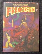 1974 Castle Of Frankenstein Magazine #23 Fn 6.0 Planet Of The Apes