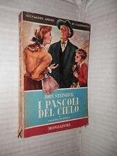I PASCOLI DEL CIELO John Steinbeck Elio Vittorini Mondadori I libri del pavone