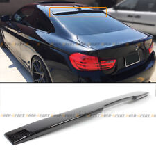 FOR 14-2020 BMW F32 428i 435i 4 SERIES COUPE CARBON FIBER REAR ROOF SPOILER WING