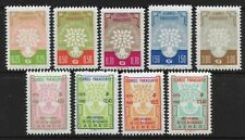 STAMPS-PARAGUAY. 1960. World Refugee Year (1st Issue) Set. SG: 870/78. MNH.