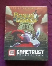 NEW Rogue Legacy Collector's Edition w/ Steelbook PC Gametrust Indiebox SEALED
