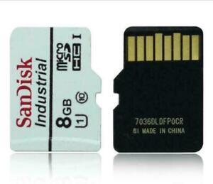 SanDisk 8GB Micro SD SDHC Industrial Memory Card Class 10 TF UHS-I U1 Origial