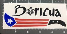 1- Machete Boricua Puerto Rico Car Vinyl Sticker