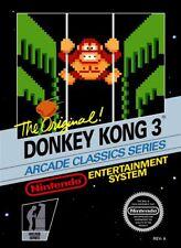 Donkey Kong 3 Nintendo Nes Cleaned & Tested