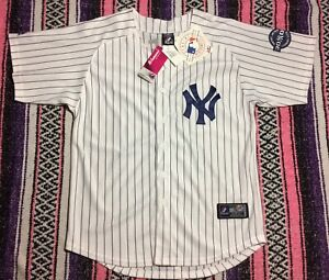 Authentic Majestic New York Yankees Derek Jeter Brand New Jersey Womens Size 50