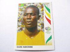 Sticker PANINI Fifa World Cup GERMANY 2006 N°518 Togo Dare Nibombe
