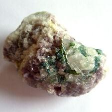 LEPIDOLITE & TOURMALINE - Top Quality / Sparkling Mineral - 75mm/122gms [F42]