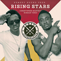 ROMAIN VIRGO & CHRISTOPHER MARTIN REGGAE RISING STARS MIX CD