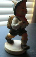 "Vintage TMK 5 Hummel Figurine 82 2/0 School Boy 4 1/2"" Tall"