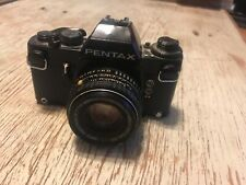 Pentax Ilx 50mm Slr Film Camera Working Good Condition