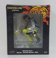 Pilota Riding Valentino Rossi Valencia MotoGP 2003 1/12 Minichamps 312030186 R