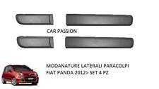 MODANATURE LATERALI FIAT NUOVA PANDA 2012 FASCE PARACOLPI PROTEZIONE PORTIERA