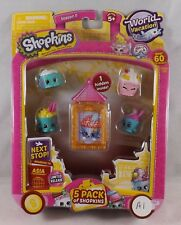 Shopkins World Vacation Asia Season 8 5 Pack - New - A1