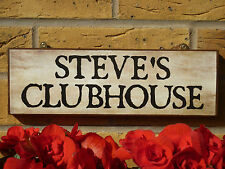 PERSONALISED OWN WORDING SIGN GOLFERS SIGN GOLFING GIFT HOUSE PLAQUE SHED SIGN