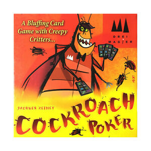 Cockroach Poker English Edition - Brand New & Sealed
