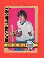 1972-73 O-Pee-Chee OPC  #211  Dave Hudsonl RC  nrmnt+