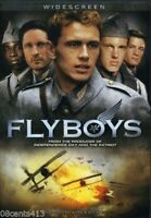 Flyboys (DVD, 2007, Widescreen) Jean Reno, James Franco