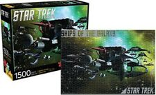 Star Trek Enemy Ships of the Galaxy 1500 Piece Jigsaw Puzzle 2015 New Sealed