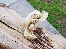 Harmony Kingdom Artist Adam Binder Tree Top Tag Frog Gecko Let's Play Series