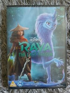 Raya and the Last Dragon (DVD) 100%AUTHENTIC NEW/SEALED (FREE POSTAGE)