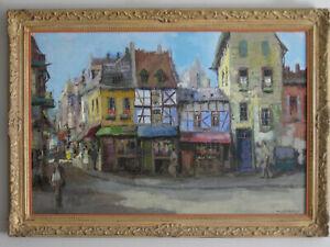 Paris street scene - Th. V.  Oorschot
