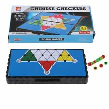 Pocket Travel Board Game Magnetic CHINESE CHECKERS Folding Board 13 x 13 cm