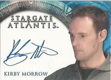 "Stargate Atlantis Heroes - Kirby Morrow ""Captain Dave Kleinman"" Autograph Card"
