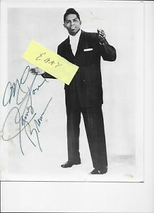 JAMES BROWN - Original ea. 60's SIGNED promo photo!!  NOT a scan!