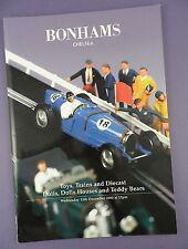 Catalogo BONHAMS ASTE DICEMBRE 2000-Giocattoli, TRENI, bambole e orsacchiotti
