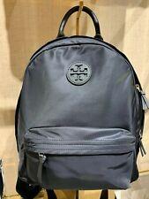Tory Burch Ella Black Large Nylon Backpack Tilda Shoulder Bag 55113
