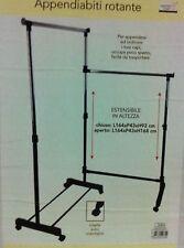 Stand stender appendiabiti rotante estensibile regolabile in altezza attaccapann