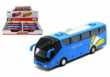"""KINGS TOY DISPLAY - 7.5"""" SONIC TRAVEL BUS Die Cast PULL BACK LIGHTS & SOUND"""