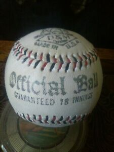 VTG 1920's BABE RUTH signed Draper & Maynard Official League Baseball *REPLICA*